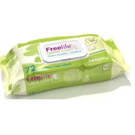 TOALLITAS FREELIFE BEBE CASH SENSITIVE 72 UDS