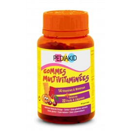 PEDIAKID 60 GOMINOLAS OSITOS MULTIVITAMINAS