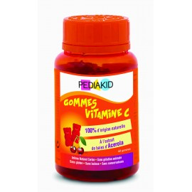 PEDIAKID 60 GOMINOLAS OSITOS  VITAMINA C