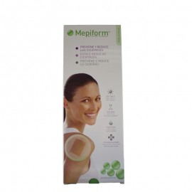 Mepiform reductor de cicatriz silicona  5uds ( 10 X 18 )