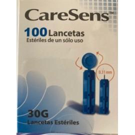LANCETAS 30G CARESENS 100 unidades